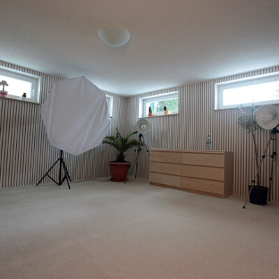 Mein kleines Studio ist fertig…