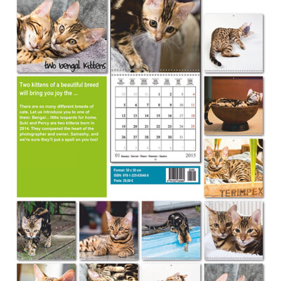 Suki and Percy calendar