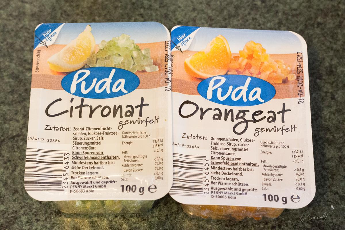 Orangen- und Zitronat